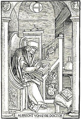 Albrecht, von Eyb