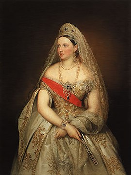 Aleksandra Petrovna, Russland, Großfürstin