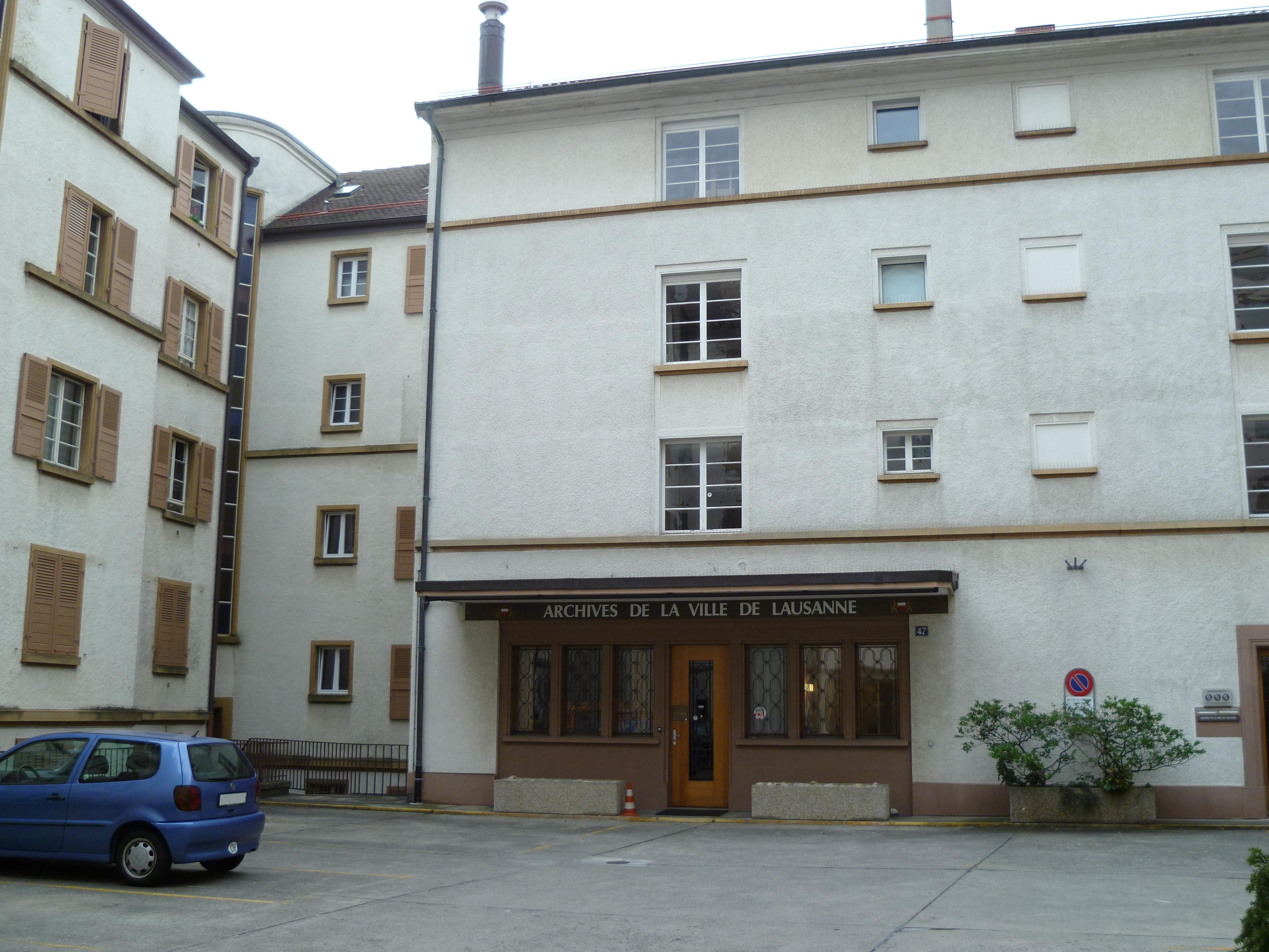 Stadtarchiv Lausanne