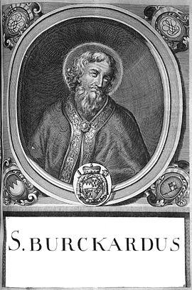 Burchard, Würzburg, Bischof, Heiliger