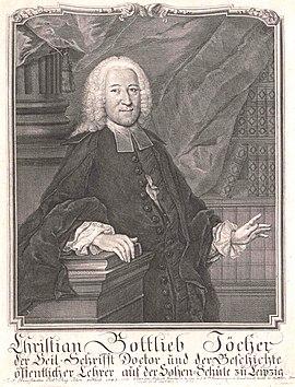Jöcher, Christian Gottlieb