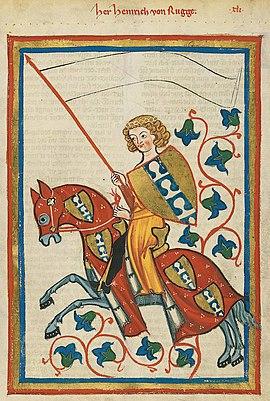 Heinrich, von Rugge
