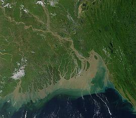 Ganges-Brahmaputra-Mündungsdelta