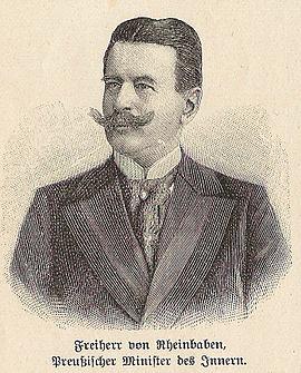 Rheinbaben, Georg von