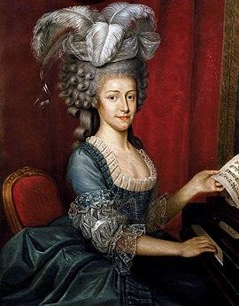 Maria Theresia, Sachsen, Königin