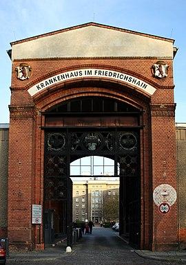 Städtisches Krankenhaus im Friedrichshain