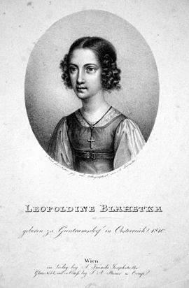 Blahetka, Leopoldine