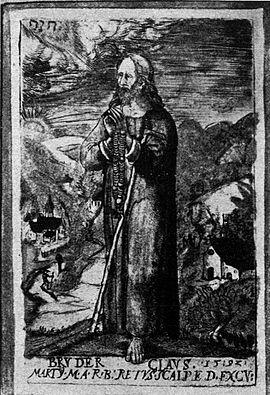 Nikolaus, von Flüe, Heiliger