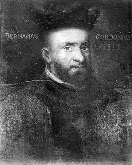 Bernardus, de Gordonio