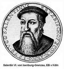 Salentin, Köln, Erzbischof