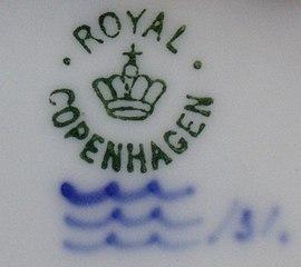 Den Kongelige Danske Porcelainsfabrik København