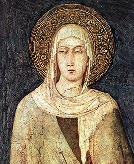 Klara, von Assisi, Heilige